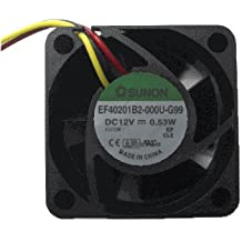 KD1208PTS1 12V 2.6W 12V 1.8W//2.6W 2Wire Cooling Fan 8cm 8025 80x80x25mm 8cm 37CFM 1.8W