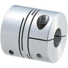 Ruland Manufacturing Co Inc MCLC-20-20-SS Bright Clamp-On Rigid Coupling Bore Side 1: 20 mm Side 2: 20 mm Bore MCLC Series 303 Stainless Steel