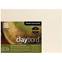 10x10 Inch FTHIN781010W Ampersand Floaterframe for Wood Panels Thin White 7//8 Inch Depth