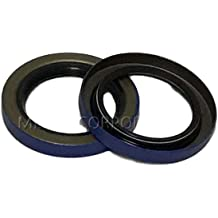 Transport WSI 31x47x7mm R23//TC Double Lip Nitrile Rotary Shaft Oil Seal with Garter Spring Agriculture Motorcycles Great Wear Resistance And Sealing Effect for General Machinery