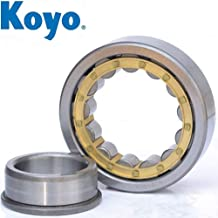 23mm Width Molded Polyamide Cage Straight 76000N Dynamic Load Capa 84500N Static Load Capacity Removable Inner Ring High Capacity NSK NU2209ET Cylindrical Roller Bearing 45mm Bore Metric Normal Clearance 85mm OD 6700rpm Maximum Rotational Speed