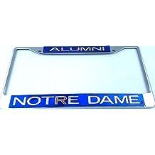 WinCraft Notre Dame S18995 LIC PLT Frame S//L Metallic