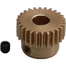 10-100PCS 0.3M 14T2A 14 Teeth Brass Gear 0.3 Modulus T=14 Aperture 2mm Tight Fit