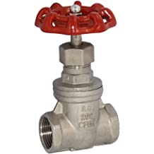 4 1 Year Warranty by Zotexa FPT x FPT Female Thread 4 Wheel Operated Gear Brass Gate Valve for Drip Irrigation