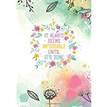 Wall Vinyl Decal Flowers Bee Quote It Is A Beautiful Day Positive Decor z3651