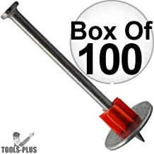 Ramset 1508 Box of 100 1 Head Drive Powder Fastener 8-Pack