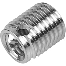 50PCS M6 Iron Material Inner and Outer Teeth Straight Nuts Furniture Assortment Threaded Insert Nut Bolt M615