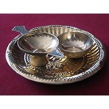 5 Rare Oil Lamps for Navratras Navratri Pooja Religious India Chirag Aarti Puja