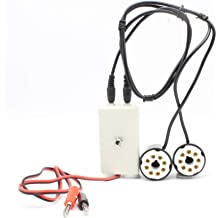 KT120 6V6 KT100 KT66 CT1-C, Cathode Current 5881 7027 6L6 6550 Nobsound Vacuum Tube Amp Amplifier Plate Bias Current Probe Tester 8 Pin Socket for EL34 KT88