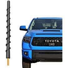 KOLEMO 5.7 Aluminum Bullet Antenna FM//AM Signal Reception for Jeep Wrangler JK 2007-2018 /& Jeep Wrangler JL 2018-2019 /& Jeep Wrangler TJ 1997-2006 Blue