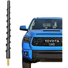 5.7 Black Bullet Antenna for 2000-2015 Nissan Xterra//2004-2017 Nissan Titan//1987-2006 Nissan Sentra//1998-2015 Toyota Sienna//2000-2017 Toyota Tundra//1995-2015 Toyota Tacoma AM//FM Signal Reception