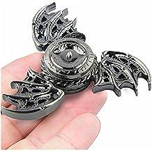 Case Chinese interlocking Dragon Ball Circle Solid Metal Fidget Spinner Black