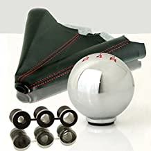 Boot Cover Combo LT Sport SN#100000001398-0843-227 for Toyota Leather 5 SPD Shift Knob