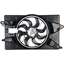 Radiator /& Condenser Dual Cooling Fan Assembly for Ram Promaster 3.0 Diesel New