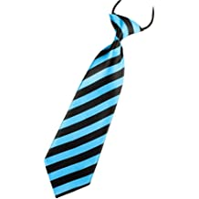 FTXJ 1PC Kids Boys Portable Elastic Tie Slim Necktie Costume Accessories