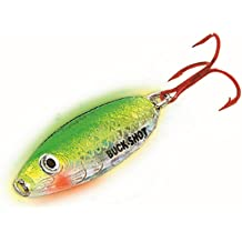 Northland Tackle Glo Shot Jig UV Pink Tiger GSJ3-26 1//8 oz Ice Fishing