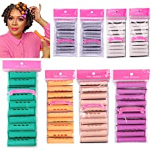 80pcs Perm Rods Long Cold Wave Rods 6 Size Perm Rod For Natural Hair Jumbo Large Medium Small Hair Roller Curling Rods Diy Hair Curlers For Long Short Hair Blue Orange Beige Purple Grey White Buy Products