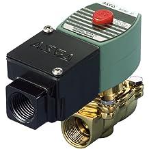 4 Cv Flow Nitrile Butylene Sealing 1//2 Pipe Size 2-Way Normally Closed 5//8 Orifice 120V//60 Hz 110V//50 Hz ASCO 8210G002-120//60,110//50 Brass Body Pilot Operated General Service Solenoid Valve
