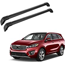 ECCPP Adjustable Length Roof Rack Cross Bar with Locks Roof Rack Cross Bars Luggage Cargo Carrier Rails w//3 Kinds Clamp Fit for 2006-2017 Ford Honda Civic Hyundai Elantra Toyota Camry Dodge Charger