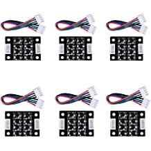 TL Smoother Plus Addon Module 3D Printer Accessories Filter 2PCS for Pattern Elimination Motor Clipping Filter A4988 and DVR8255 And MK8 I3 3D Pinter Motor Drivers
