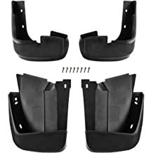 For Forester 1998-2002 Mud Flaps Spash Guards 4 Pcs Driver Passenger Front Rear