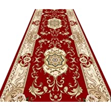 Mbd Corridor Carpet Long Wear-Resistant Low-Grade Soft and Non-Slip Color : A, Size : 1x4m A Variety of Sizes Can Be Customized