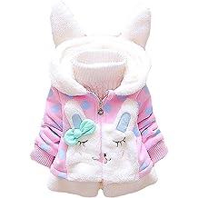Winsummer Toddler Baby Boys Down Winter Fleece Coat Warm Hoodie Zipper Puffer Jacket Outdoor Ski Snow Wear