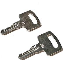 zt truck parts 10 Ignition Keys 455 Fit for Scissor Lift Boom Lifts Genie Skyjack Terex Snorkel Manlift Upright