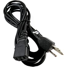 Optimum Orbis 12 Ft 12 Feet 2 Prong Polarized Power Cord for Insignia LED TV NS-32DR310NA17 NS-32DR420NA16 NS-39D400NA14