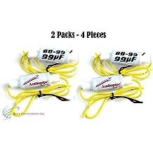 2 PCS Bass Blocker Crossover 14UF 50V Cap 2800HZ @ 4 OHM TWEETERS BB14