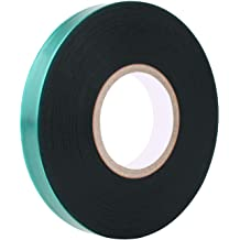 AAAmercantile Clear Jumbo Tie Tape 200 FEET x 3//4 Wide 6mil Thick Stretch Plant Ribbon Garden Vinyl Stake
