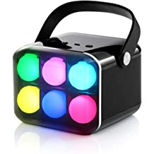 LED Bluetooth Speaker by Benzzo Portable Desk Lamp Flickers Flame Light and HD Sound Wireless Speakers with Exclusive Bass and Easy Carrying Handle for Outdoor for iPhone iPad Android