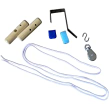 Blue Set of 2 Nylon Webbing Design RangeMaster RM-SS Stretch Strap Stretching Aid and Patient Guide