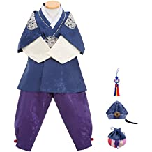Dol Bok from Age 1 to 15 Skyroad Korean Traditional Hanbok Set Baby Through Girl 6 Items Total Made in Korea