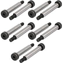 uxcell 5pcs 40Cr Steel Shoulder Bolt 8mm Shoulder Dia 60mm Shoulder Length M6x12mm Thread