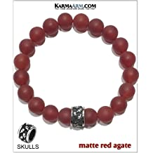 Bride Groom Wedding Gift I DO : Black Onyx KarmaArm Wedding Bracelet Just Married Reiki Healing Energy Beaded Self-Care Wellness Jewelry Yoga Chakra Love Bracelet