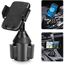 Adjustable Phone Holder Phone Mount for iPhone 11 Pro//XR//XS Max//X//8//7 Plus//6s SE Samsung Galaxy Car Phone Cup Holder TDTOK Upgraded