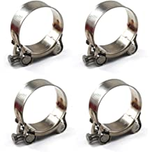 HPS Effective Range: 3.39-3.70 Stainless Steel T-Bolt Hose Clamps SAE # 10 86mm-94mm SSTC-86-94