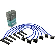 Cable Master Spark Plug Wires Compatible with QX4 Frontier Pathfinder Xterra SOHC 3.3L V6 VG33E 1997-2004
