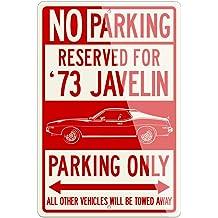 METAL STREET SIGN JAVELIN LANE AMERICAN MOTORS AMC AMX 390 GO PACKAGE MAN CAVE