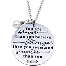 O.RIYA The Love Between a Grandmother /& Grandson is Forever Necklace Set