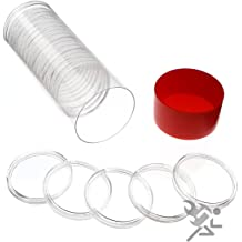 5 Air-Tite 24mm White Ring Coin Holder Capsules for Quarters