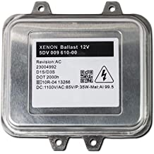 D1S//D1R Xtremevision OEM Replacement Ballast Compatible with OSRAM A71177E00DG Xenon HID Ballast Single - 1 PCS - 2 Year Warranty