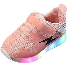 Kimanli Baby Girls Boys Mesh Petchwork Running Sport Sneaker Casual Shoes