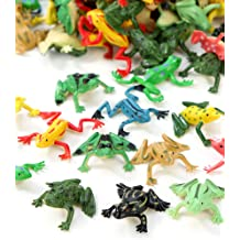 Pair of 35mm Green Plastic Wiggle Googly Frog Eyes Pack of 6