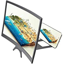 iPhone Smartphone Foldable HD Acrylic Radiation-Resistant Anti-Fatigue Video Screen Amplifier,Suitable for Android ElectroOptix Universal 3D Mobile Screen Magnifier