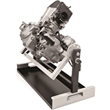 DURHAND Steel Motorcycle Engine Stand with a Simple Operation a Strong//Stable Build Convenient Tool in Your Garage