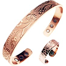 HEAVY CHAIN LINK PURE COPPER DELUXE WOMENS BRACELET metal health pain relieve