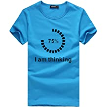 Mens T Shirt Funny Loading Letter Print Tee Shirt Teen Boy Sport Fitness Blouse Zulmaliu