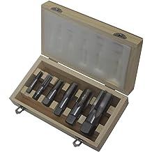 Drill America 17//64 High Speed Steel Heavy Duty Split Point Stub Drill Bit D//AST Series Pack of 12